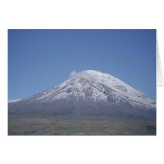 Chimborazo、エクアドル カード