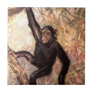 chimpanzeehangingintree002_original タイル
