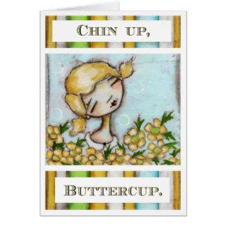 Chin、キンボウゲ-挨拶状 カード