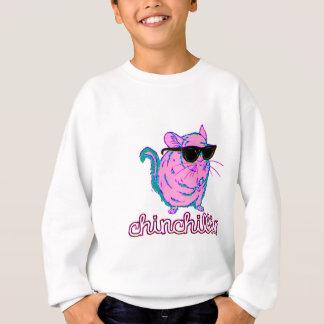 Chinchillinのネオンピンクのチンチラ スウェットシャツ