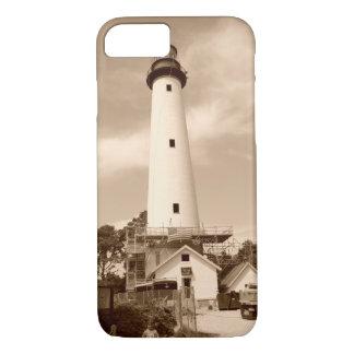Chincoteagueの灯台写真 iPhone 8/7ケース