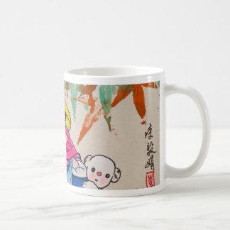 Chinestyleの子供 コーヒーマグカップ