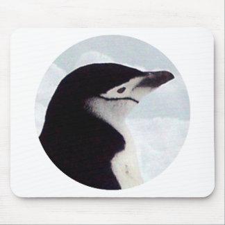 Chinstrapのペンギンのポートレート マウスパッド