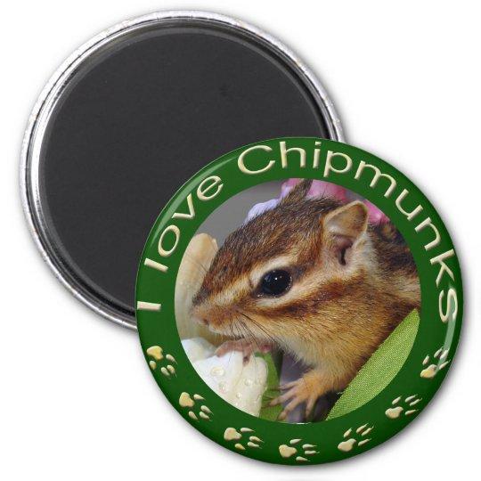 Chipmunk_ Circle_3 マグネット