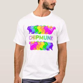 Chipmunk illustration (16) Tシャツ
