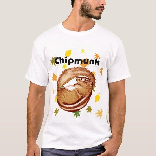 Chipmunk illustration (1) Tシャツ