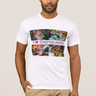 Chipmunk photo (26) type1 tシャツ