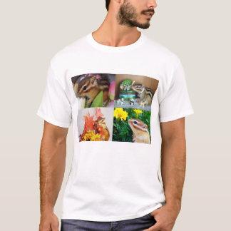 Chipmunk photo (26) type2 tシャツ