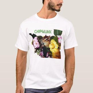 Chipmunk photo (7-7) tシャツ