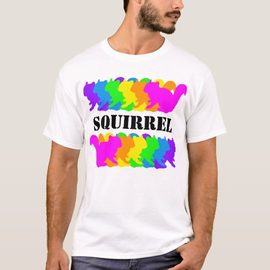 Chipmunk , squirrel , illustration (Colorful) Tシャツ