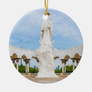 Chiquinquiráの数珠の私達の女性のバシリカ会堂 セラミックオーナメント