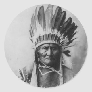 ChiricahuaアパッシュGeronimo Goyathlay Goyahkla ラウンドシール