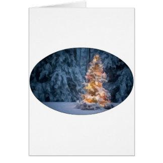 Chirstmasの木 カード