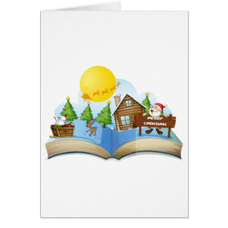 Chirstmasの本 カード