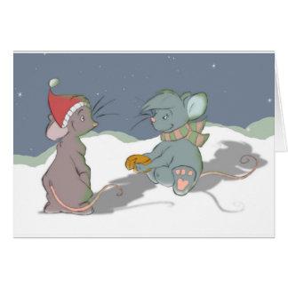 ChirstmasカードLauren カード