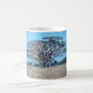 Chisamba -マグのフィカスの木 コーヒーマグカップ