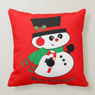 Chistmasの枕と雪だるま結婚して下さい クッション