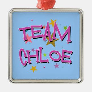 CHLOEのチームChloe メタルオーナメント