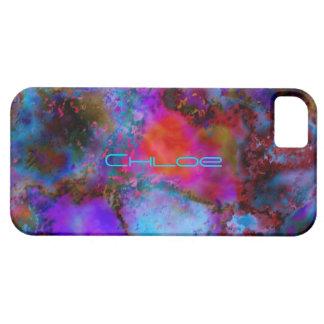 Chloeのsmartphoneはiphone 5の多彩なカバーを包装します iPhone SE/5/5s ケース