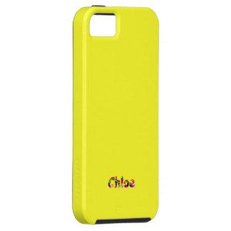 Chloeのsmartphoneカバーiphone 5の黄色い箱 iPhone SE/5/5s ケース