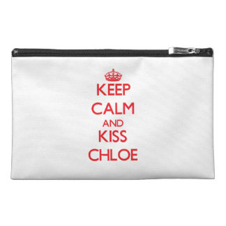 Chloe穏やか、キス保って下さい トラベルアクセサリーバッグ