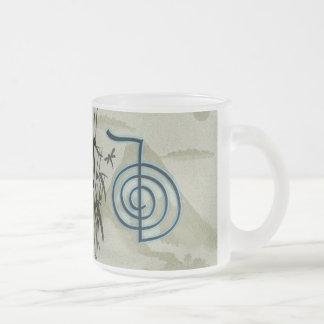 Cho Ku Reiの霊気山のコーヒー・マグ フロストグラスマグカップ
