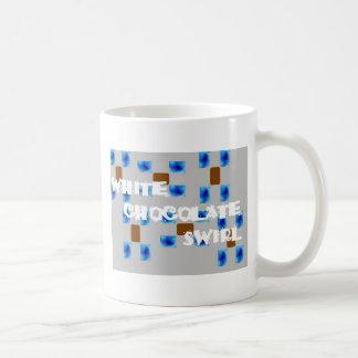 Chocの白い渦巻 コーヒーマグカップ