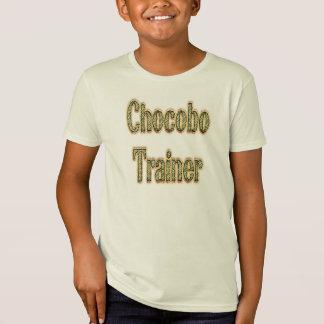 Chocoboのトレーナーの金ゴールド Tシャツ