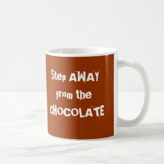 Chocoholicチョコレート警告 コーヒーマグカップ