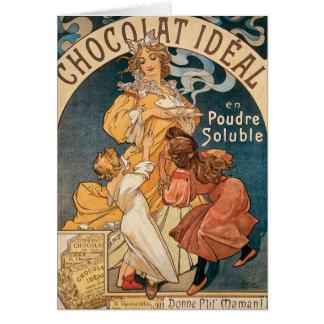 Chocolatの理想的なメッセージカード カード