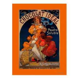 Chocolatの理想的なヴィンテージPosterEurope ポストカード