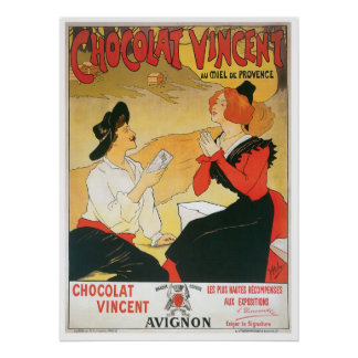 Chocolatヴィンチェンツォのヴィンテージの食糧広告の芸術 ポスター