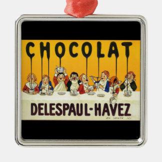 Chocolat Delespaul Havez メタルオーナメント