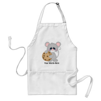 Chocolate chip cookie mouse vendors apron スタンダードエプロン