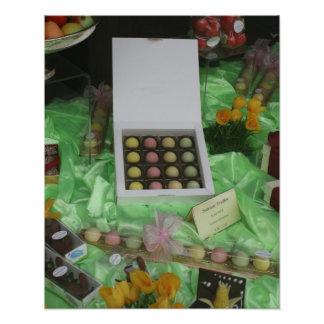 ChocolatierおよびPatisserieの窓、バーゼル フォトプリント