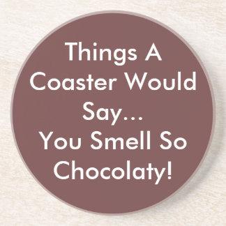 Chocolatyのコースターをそうかぎます コースター