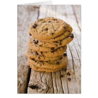 chocolteの破片のクッキー2 カード