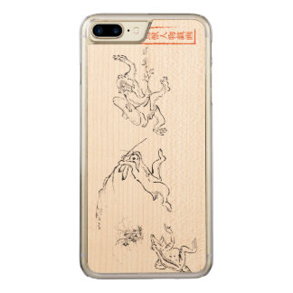Choju-jinbutsu-gigaの追跡 Carved iPhone 8 Plus/7 Plus ケース
