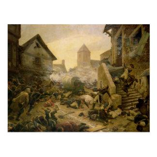 Choletの戦闘か概要の自殺 ポストカード