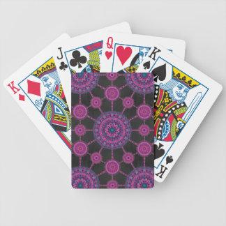 Chollaのサボテンの曼荼羅の配列のカジノカード バイスクルトランプ