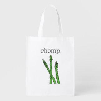 chomp。 (アスパラガス) エコバッグ