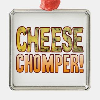 Chomperのブルーチーズ メタルオーナメント