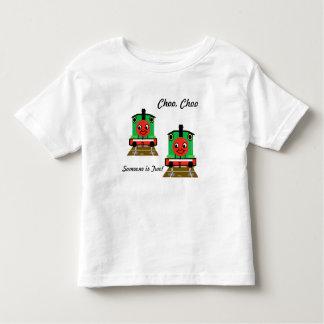 ChooのChooの列車は誰かTwoTankエンジンのTシャツです トドラーTシャツ