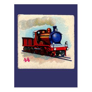 chooのchooの列車 ポストカード