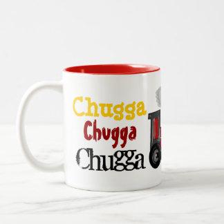 Choo次元のChooの列車 ツートーンマグカップ