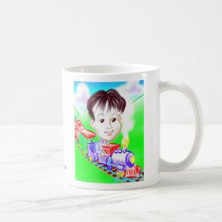 Choo Chooの列車の風刺漫画のマグDC コーヒーマグカップ