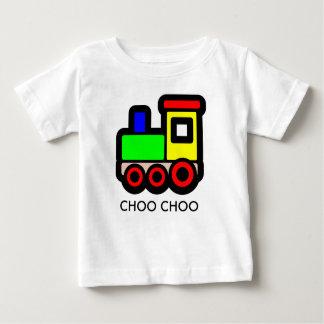 Choo Chooの列車のTシャツ ベビーTシャツ
