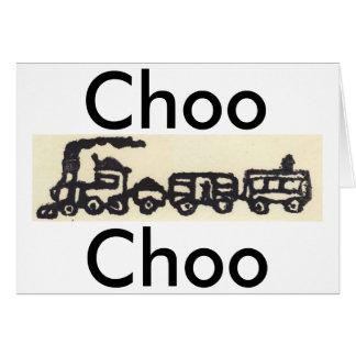 Choo Chooの列車 カード
