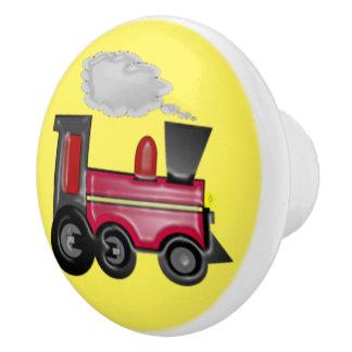 Choo Chooの列車 セラミックノブ