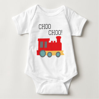 Choo Chooの列車 ベビーボディスーツ